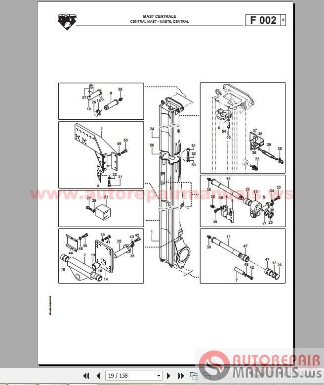 IMT AFT220 DRILLING RIG Workshop Manual – Imt Wiring Diagram