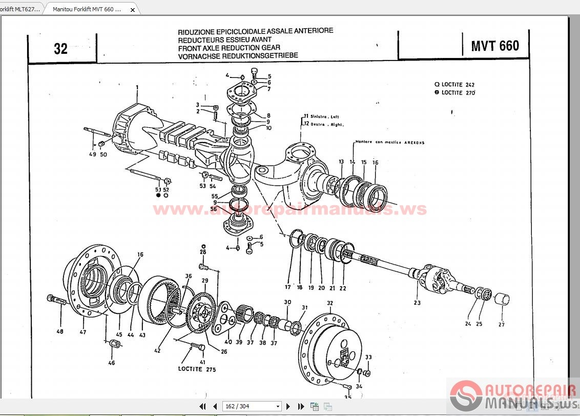 Manitou Forklift Parts Manual Auto Repair Manual Forum