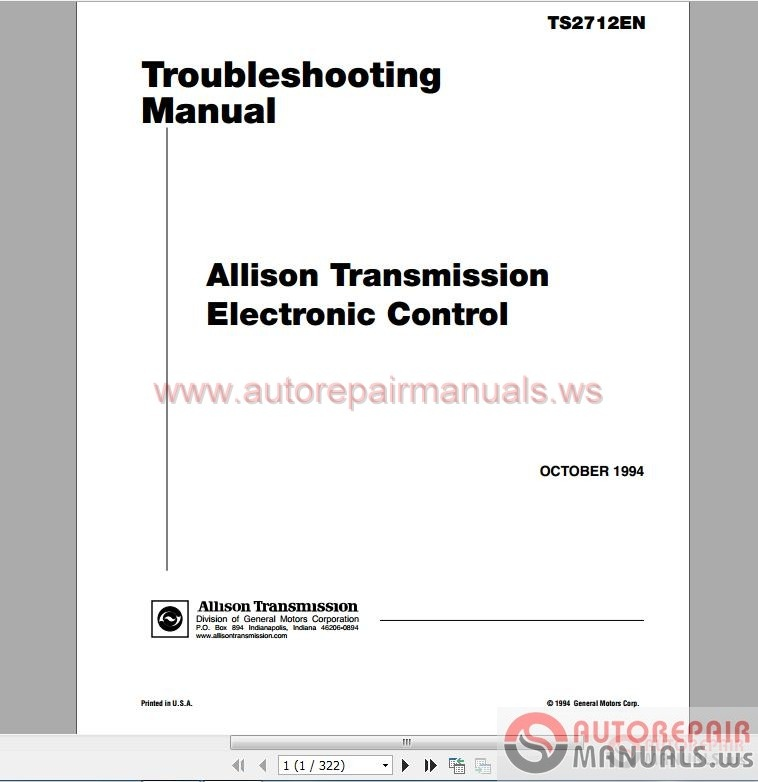 1000 And 2018 Product Families Troubleshooting Manual