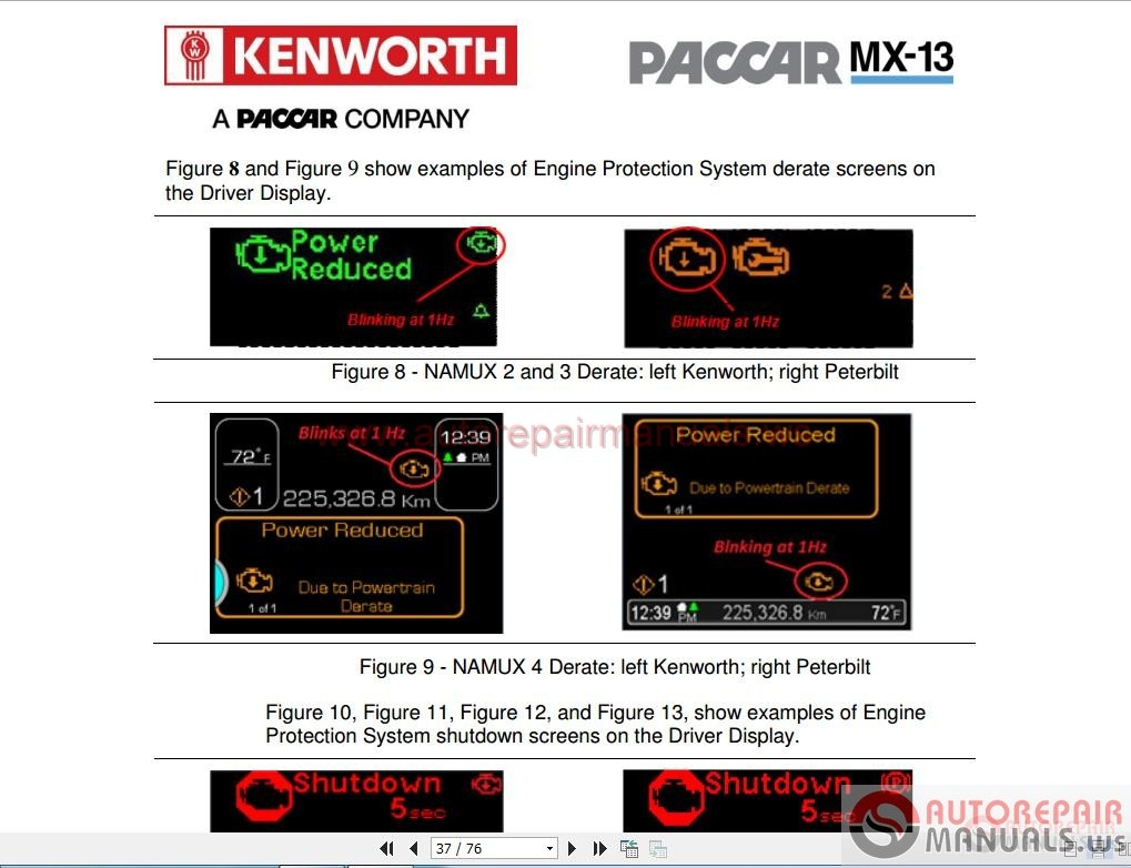 paccar mx software pdf u0026 39 s  u0026 programming manuals