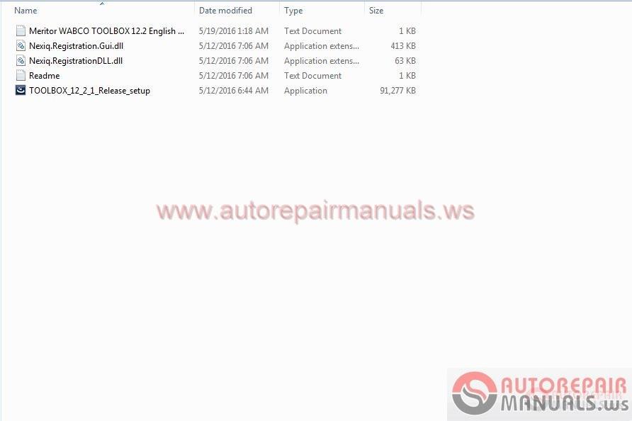 Meritor Wabco Toolbox 12 2 English  2016    Patch Full