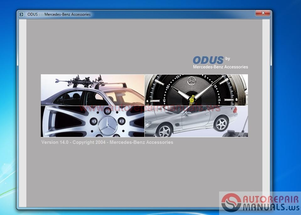 2004 mercedes benz e320 service repair manuals software for Mercedes benz e320 service manual