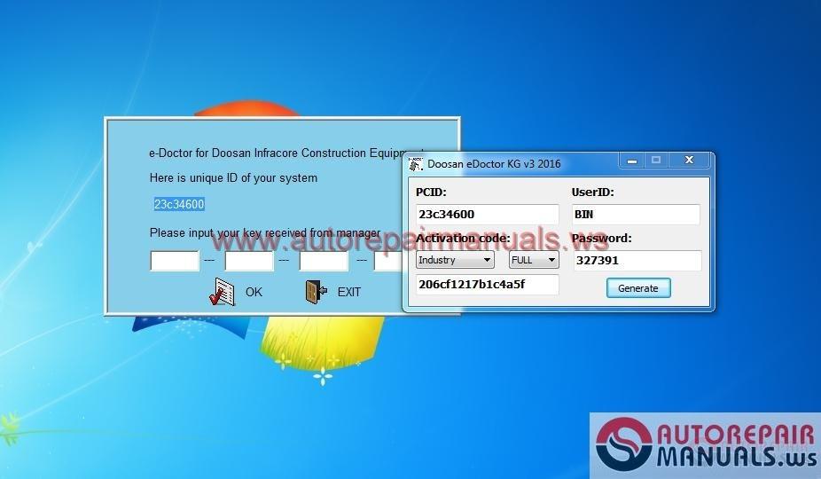 Doosan eDoctor Engine Diagnostic 2.3.5.6 (EDIA)+keygen