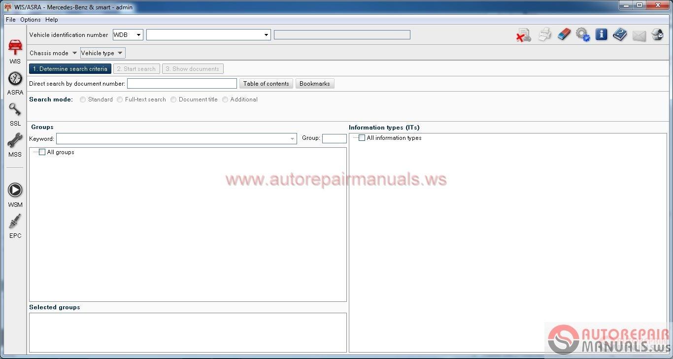 Mercedes Benz Wis Asra Net 06 2016 Full Instruction Auto Repair Manual Forum Heavy