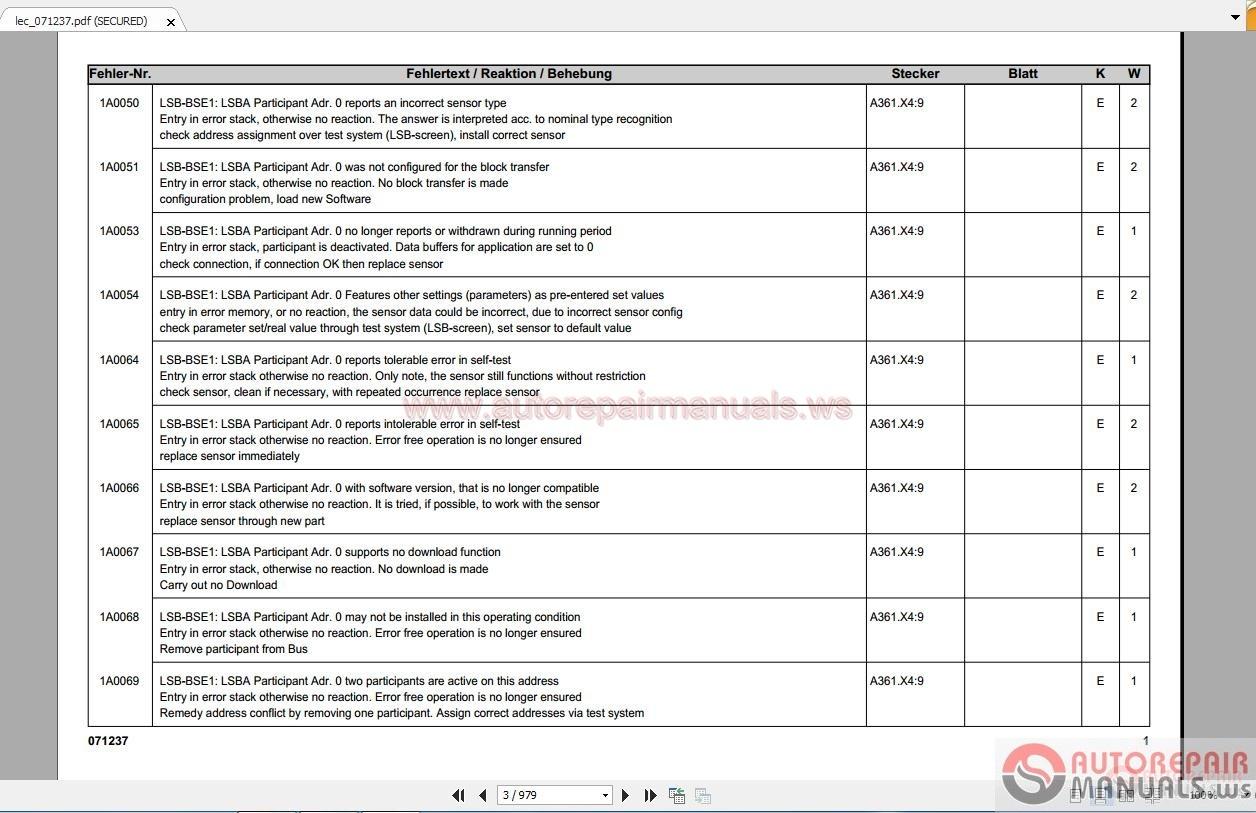 Liebherr Ltm 107042 Electric Diagrams Auto Repair Manual Forum