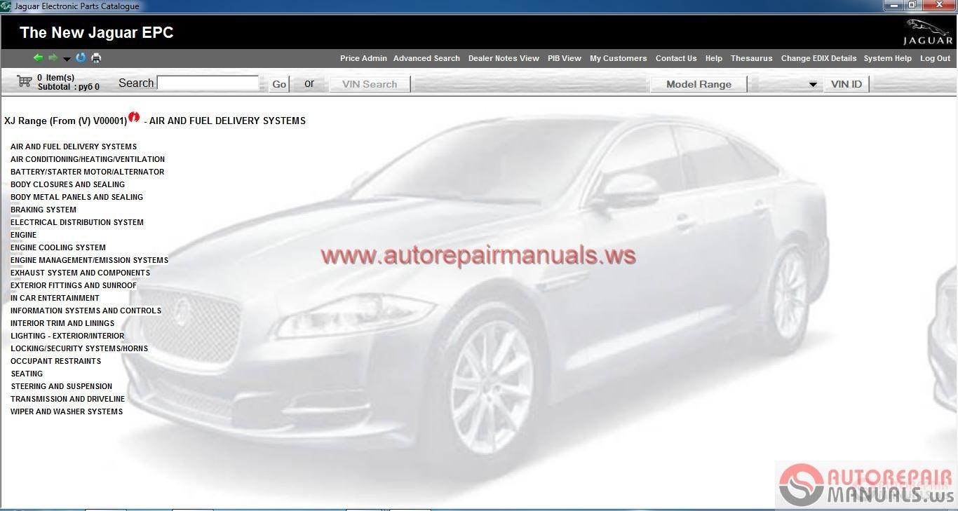 Jaguar Epc V3  12 2013  Full   Instruction