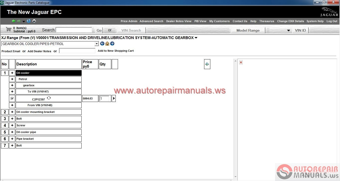 Jaguar EPC V3  12   2013     Full  Instruction   Auto Repair