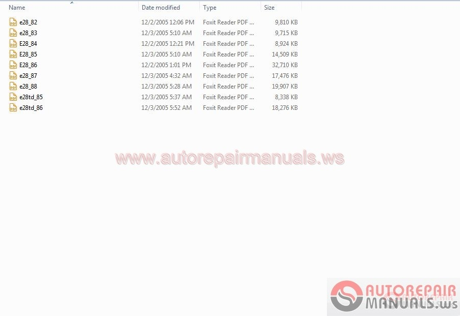 Bmw Etm 5 6 7 Series Electrical Troubleshooting Manuals