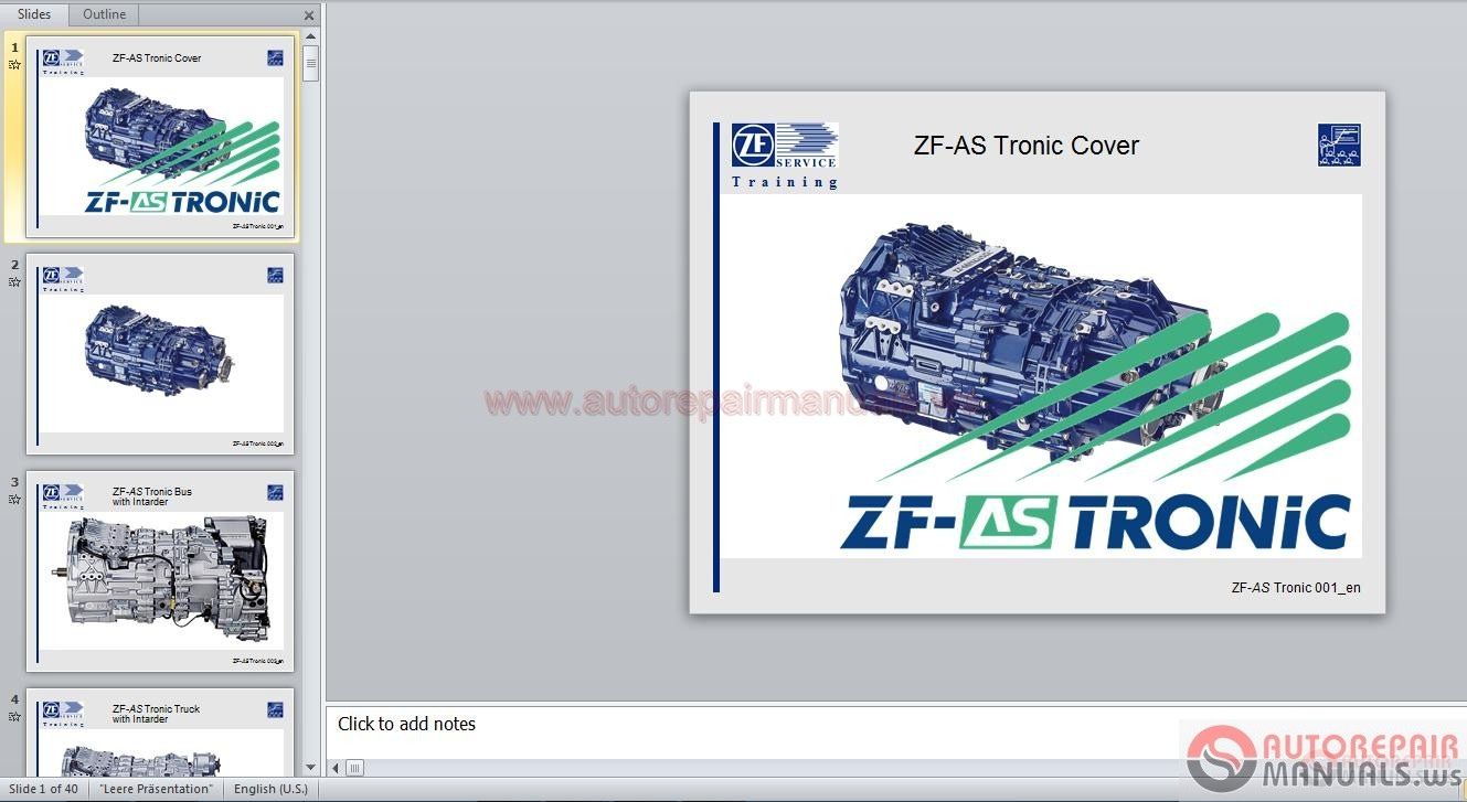 zf as tronic service training auto repair manual forum heavy rh autorepairmanuals ws