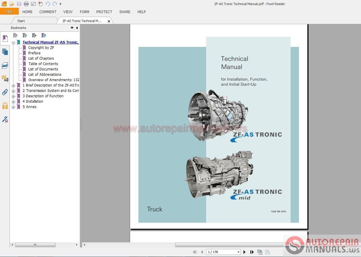 zf as tronic technical manual auto repair manual forum heavy rh autorepairmanuals ws