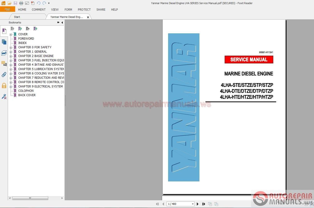 yanmar 6lpa stp2 service manual pdf download autos post. Black Bedroom Furniture Sets. Home Design Ideas