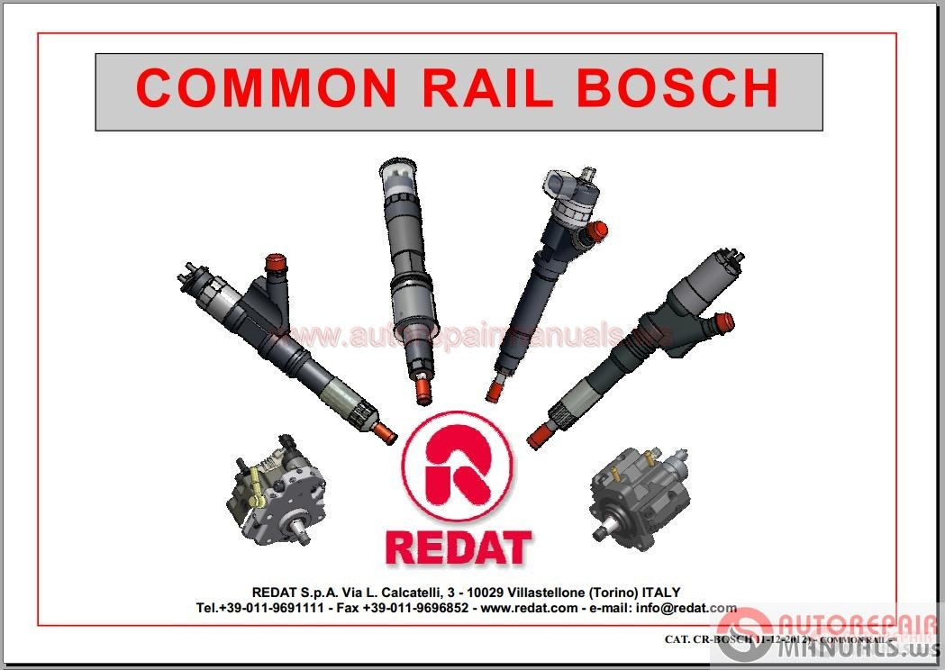Common Rail Systems And Cri Injectors Catalogues
