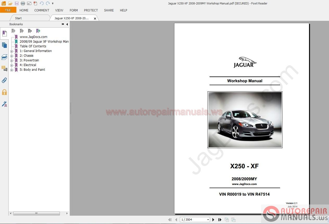 jaguar x250 xf 2008 2009my workshop manual auto repair manual rh autorepairmanuals ws jaguar xf workshop manual online jaguar xf workshop manual online