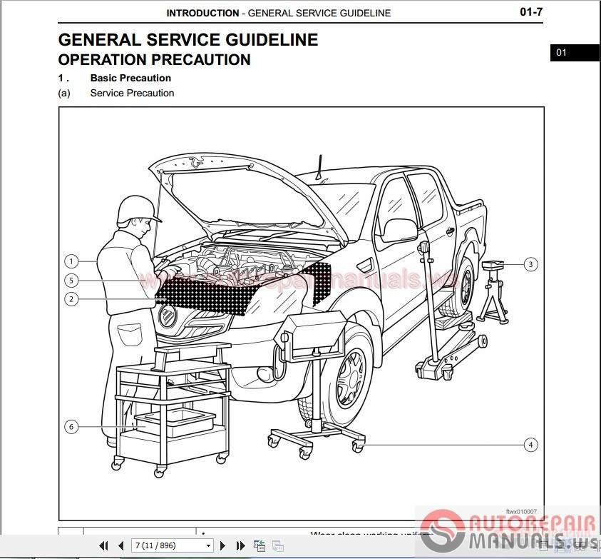 Foton Tunland Service Manual All Cummins Isf 2 8