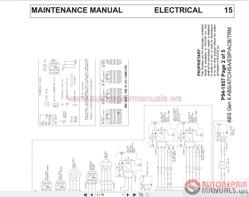 wiring diagrams for kenworth t800  u2013 the wiring diagram