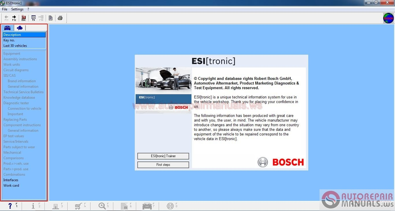 Bosch Esi Tronic V1 0 Q1 2016 Ful Kg Auto Repair Manual Forum Heavy Equipment Forums