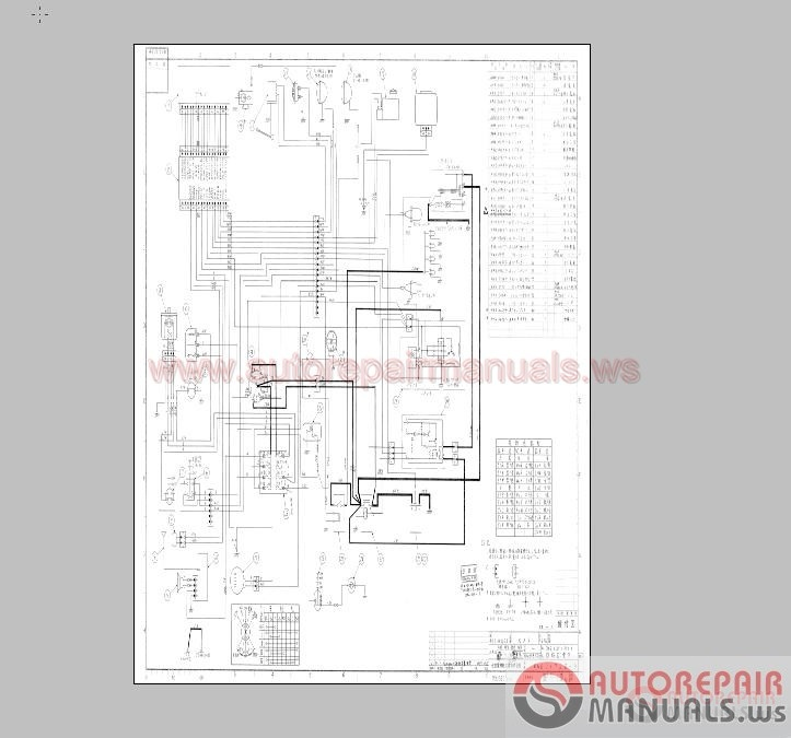 Linkbelt_Full_Shop_Manual_Part_Manual_Schematic_Circuit11 link belt excavator wiring diagram 28 images doosan excavator link belt 3400 excavator wiring diagram at gsmportal.co