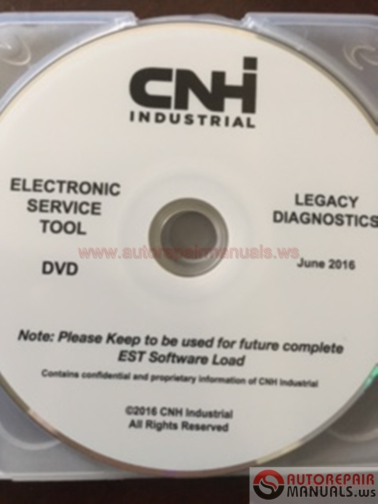 CNH EST Electronic Service Tools [06 2016] UPDATE ISO | Auto Repair