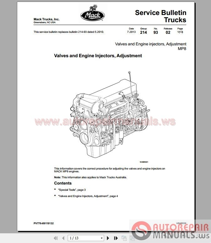 Wiring Diagrams For Mack Trucks Manual Guide