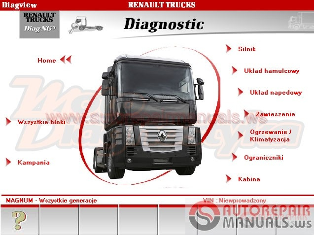 Renault Truck Diagnostic 3 1 0