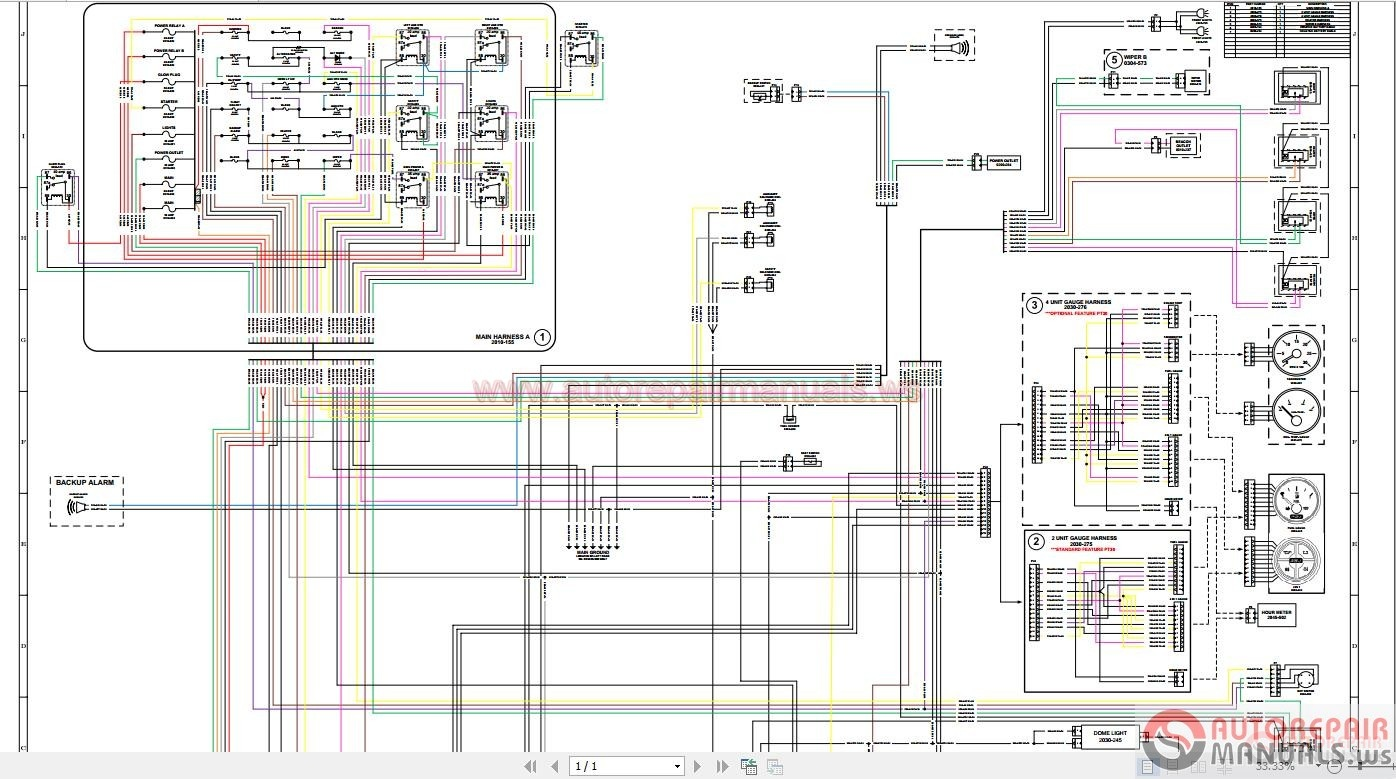 Terex_PT30_Electrical_Schematic terex pt30 electrical schematic auto repair manual forum heavy terex pt80 wiring diagram at nearapp.co