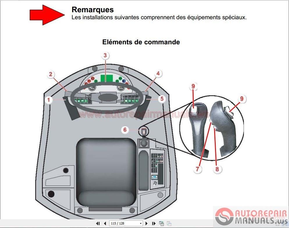 Terex TL210 Wheel Loader Service Manual ES | Auto Repair