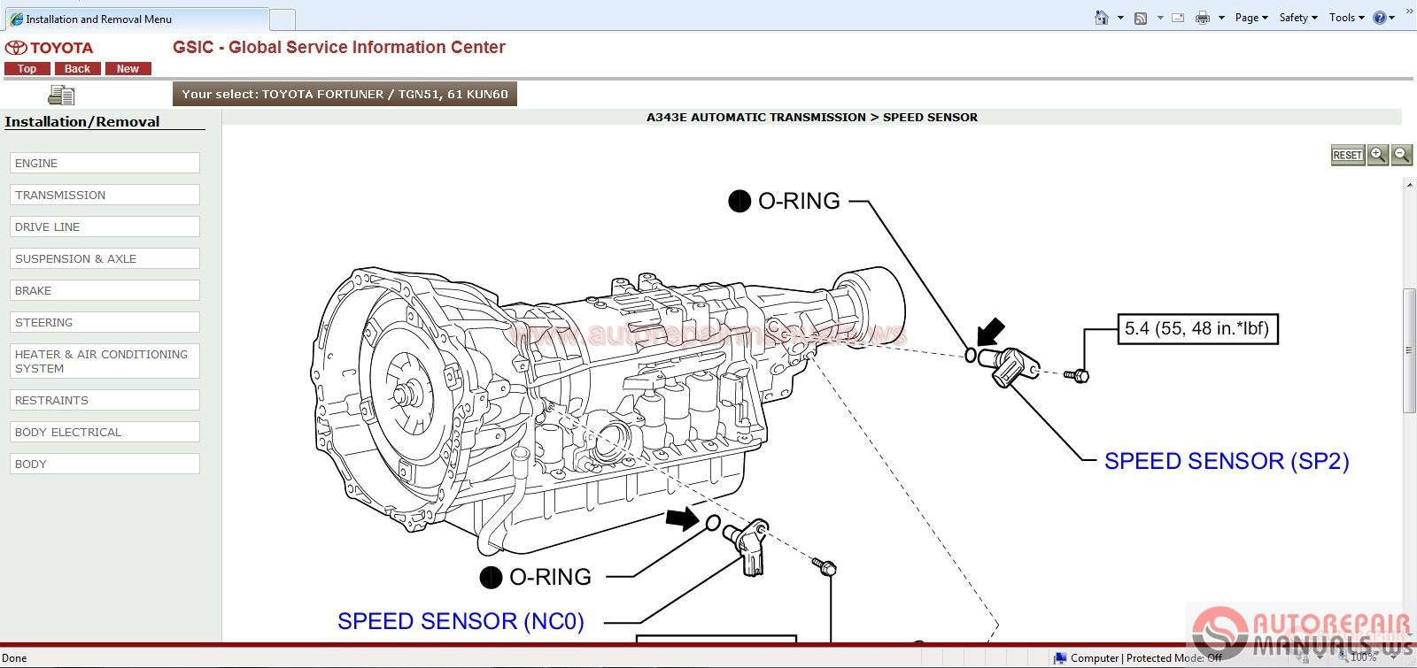 Toyota Gsic Repair Manual Wiring Diagram Body Repair
