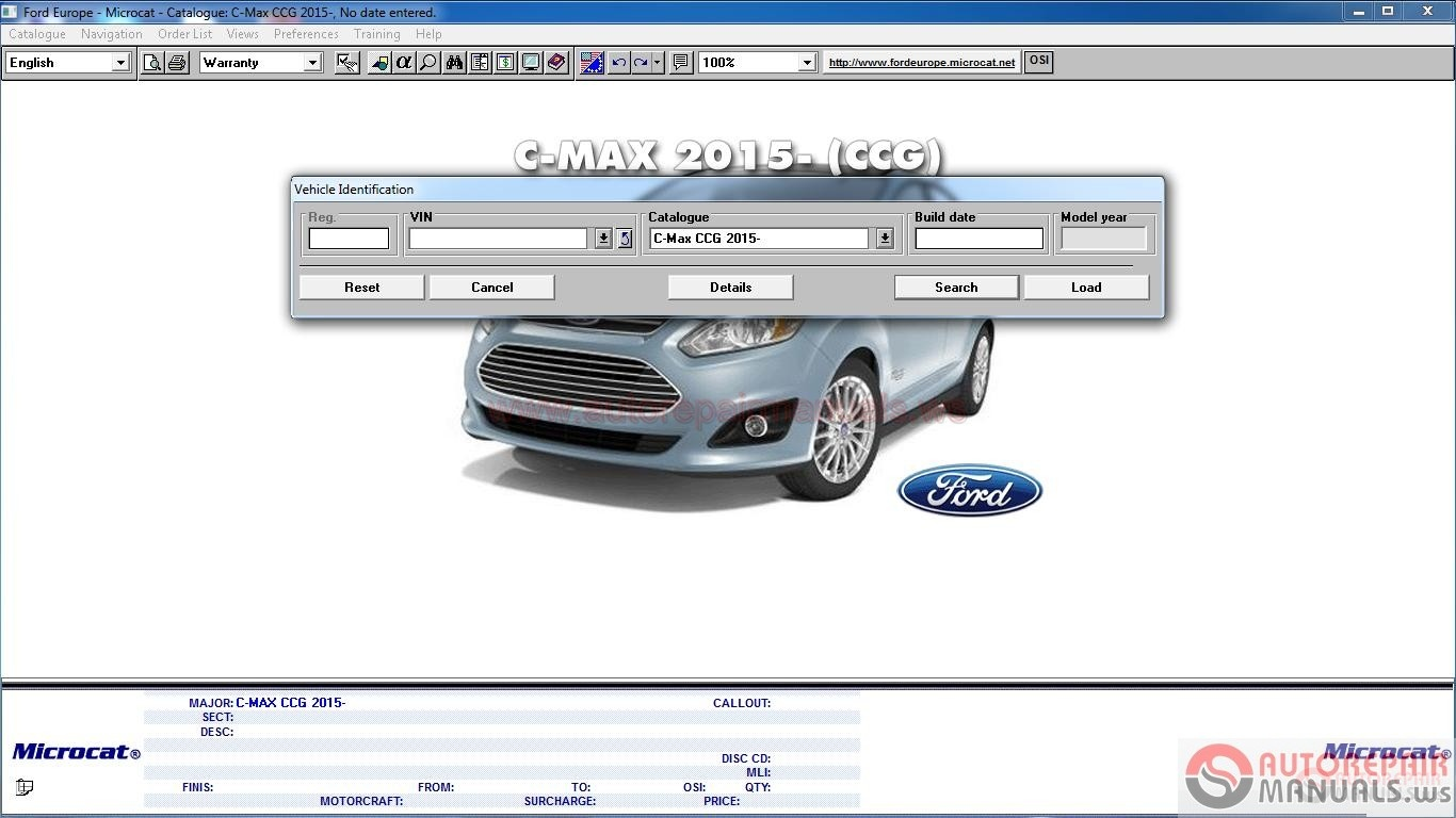 Ford Europe Mcat 04 2015 Full Instruction Auto