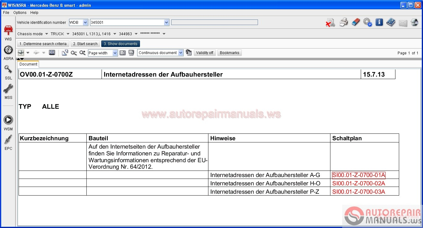 Mercedes Benz Glk  Repair Manual