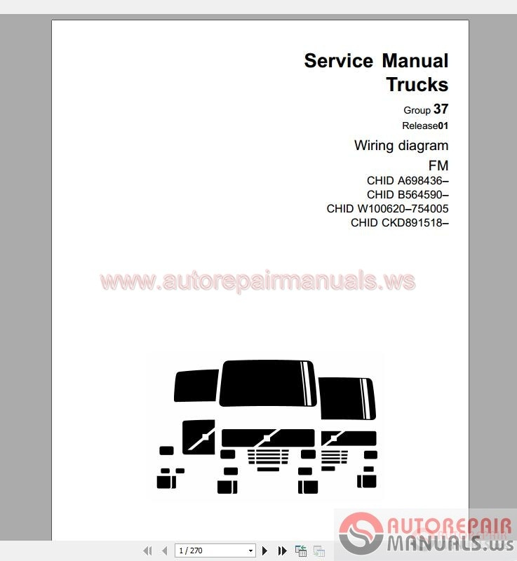 Volvo Truck All Models Shop Manual
