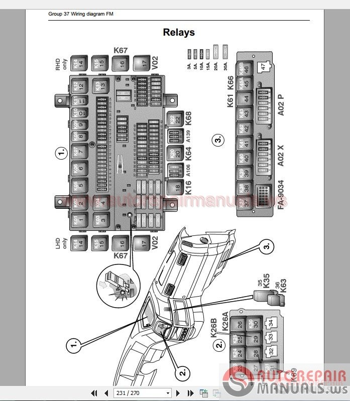 crown lift truck wiring diagram