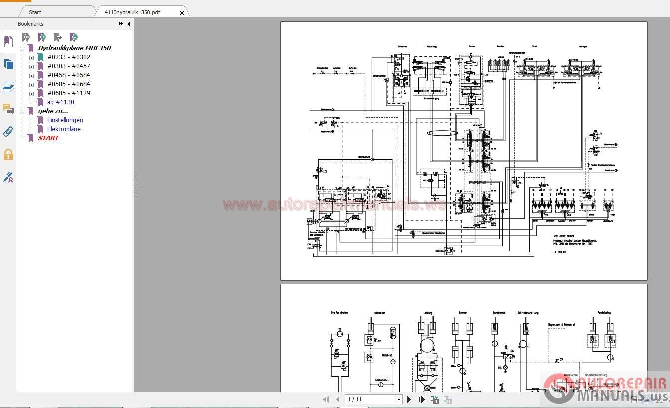 auto repair manuals terex fuchs 2010 service