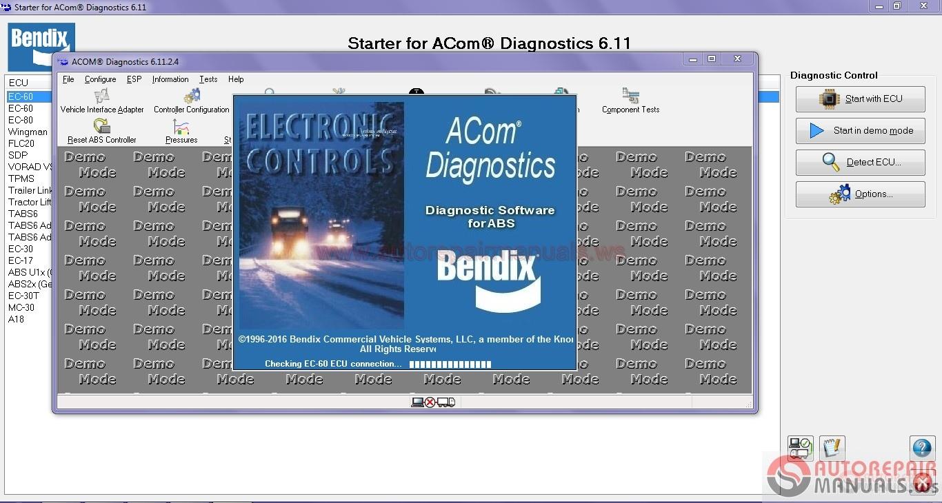 Bendix ACom Diagnostic Software v.6.11.2.4 [2016] | Auto ...