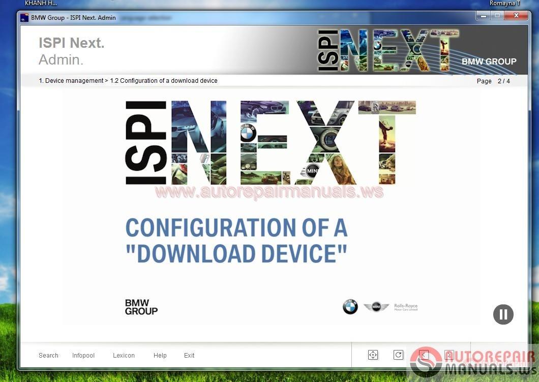 Bmw Web Based Training Cbt Ispi Next Admin Auto Repair