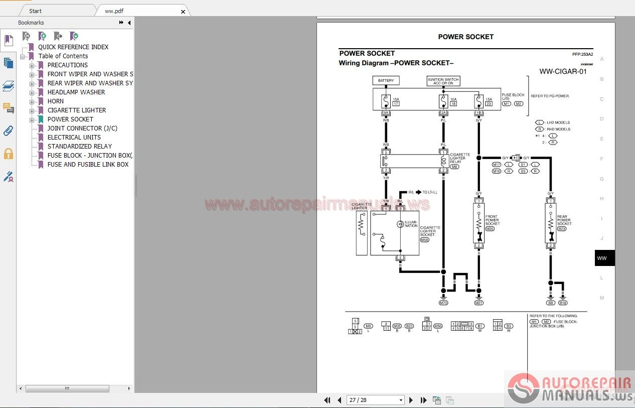 NISSAN   INFINITI    Workshop    Manuals ALL   Auto Repair
