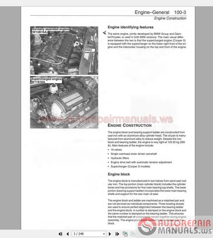 mini cooper 2002 2006 service repair workshop manual. Black Bedroom Furniture Sets. Home Design Ideas