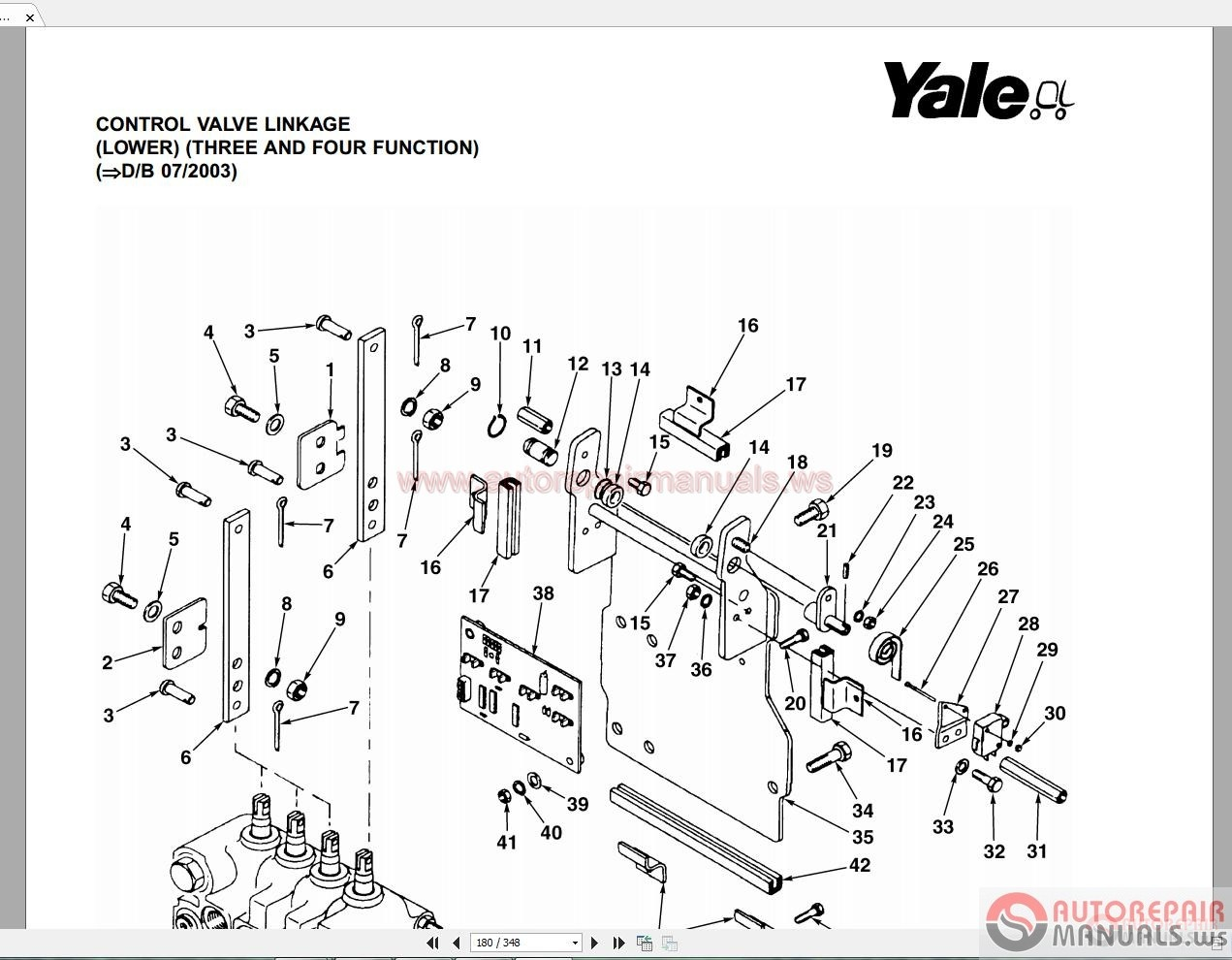 yale forklift fuse box diagram
