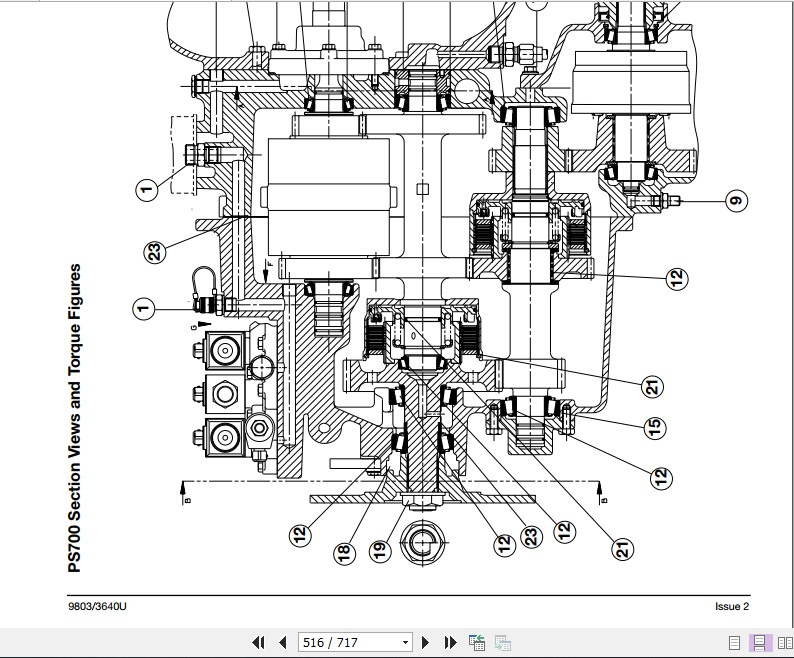 Jcb Liftall 506c 506chl 508c Service Manual