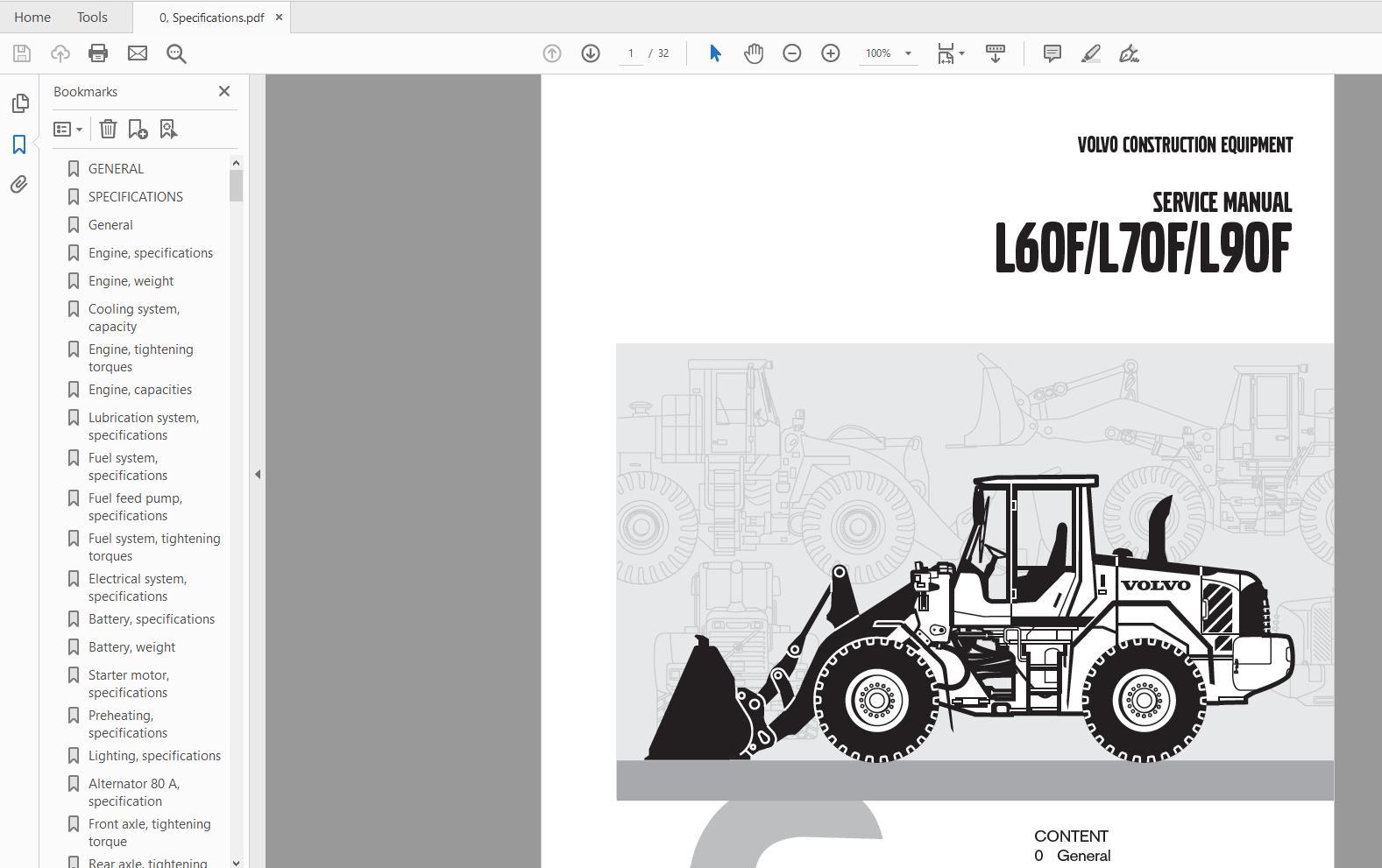 volvo wheel loader l60f,l70f,l90f service manual   auto repair manual forum  - heavy equipment forums - download repair & workshop manual  autorepairmanuals.ws