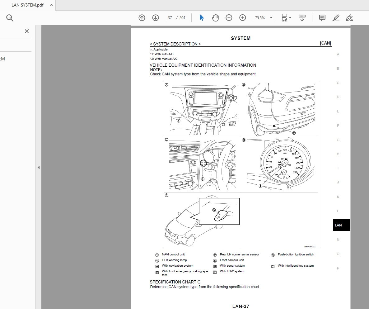 Nissan X-trail T32 2018 Workshop Manual