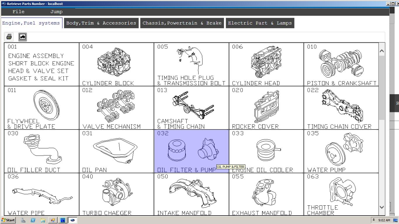 Subaru Epc5 Eu  05 2019  Spare Parts Catalog
