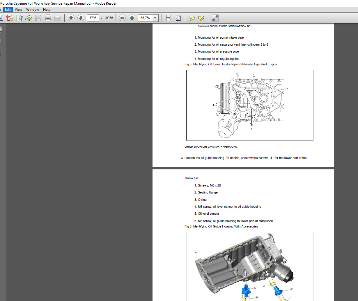 Porsche Cayenne Full Workshop Service Repair Manual