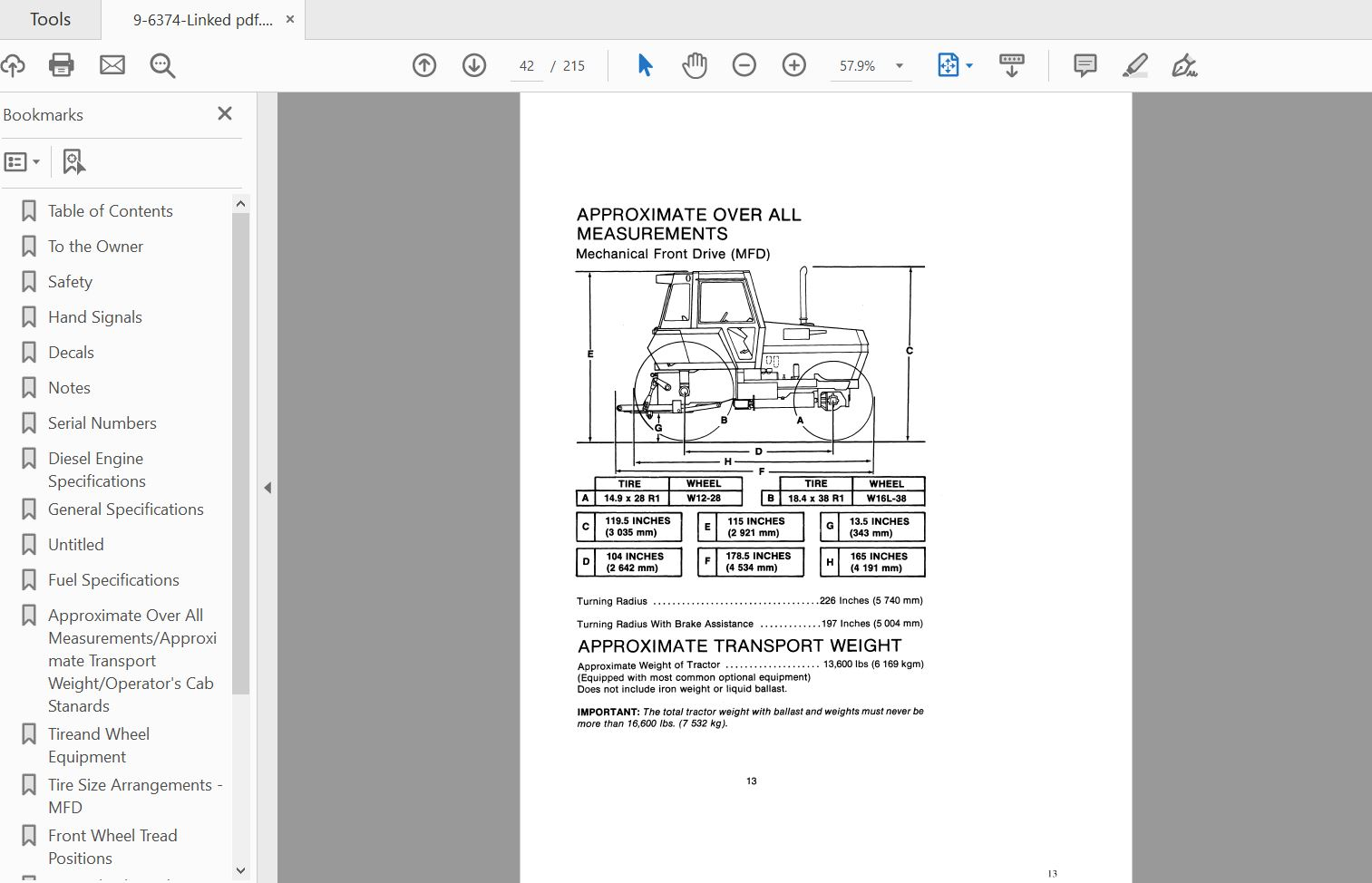 Case Ih Tractor 2090 Operator U0026 39 S Manual 9