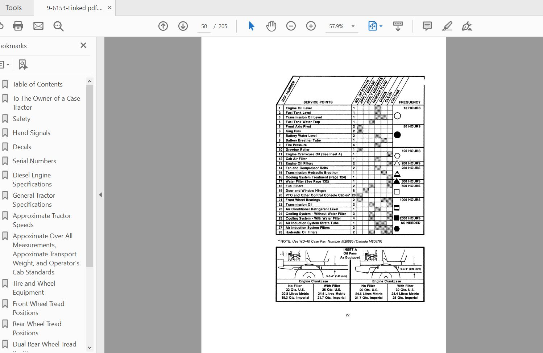 Case 40XT Skid Steer operator manuals PDF Download ...