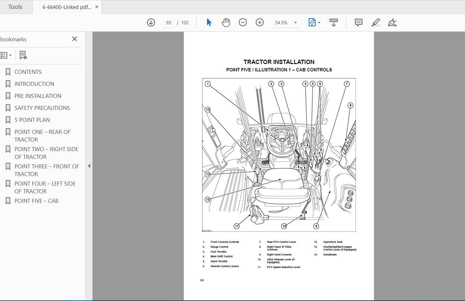Case Ih Tractor Jx 1050c 1070c 1075c Operator U0026 39 S Manual 6