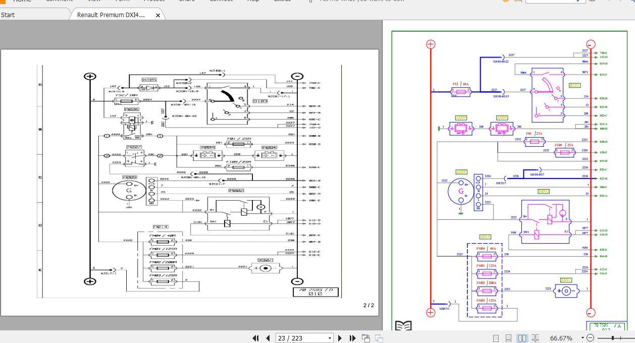 Renault Premum 11 7 Dxi Euro3 4 Wiring Diagrams