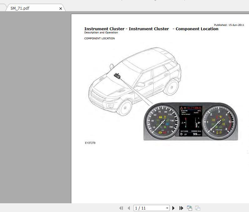 Range Rover Evoque L538  2011 U20132013  Workshop Manual  U0026 Wiring Diagrams