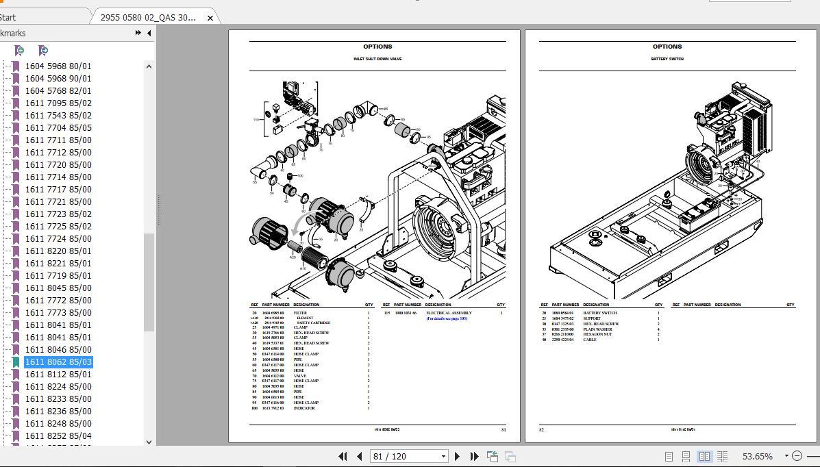Atlas Copco Air Compressor Parts Manual Auto Repair Manual Forum Heavy Equipment Forums Download Repair Workshop Manual
