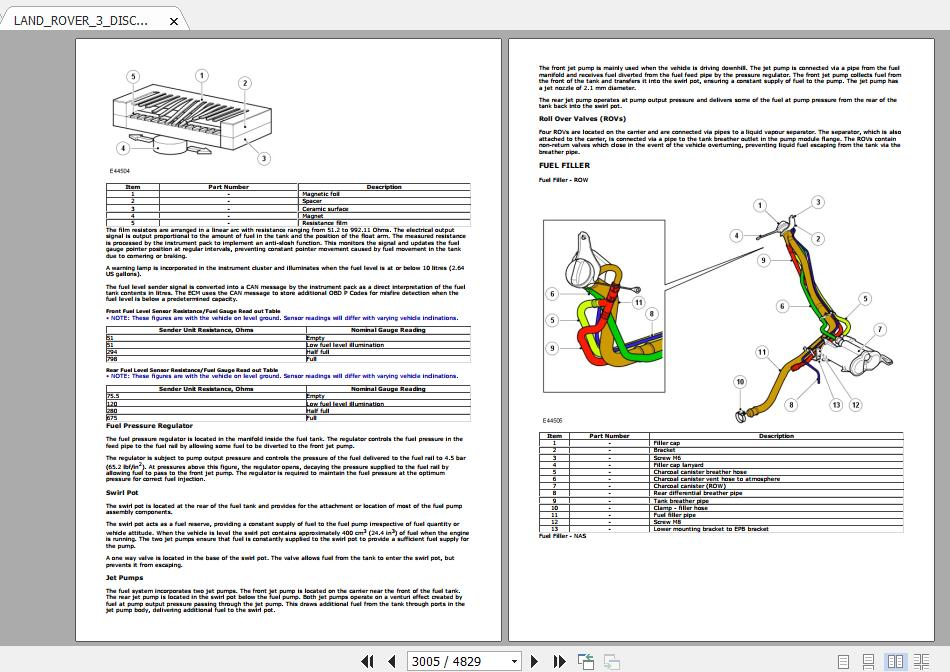 Land Rover 3 Discovery 2006-2009 Owner Manual