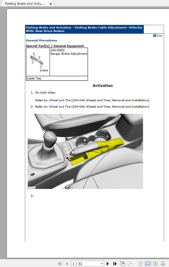 Ford Fiesta 1 1l 2017-2020 Workshop Manual  U0026 Ewd